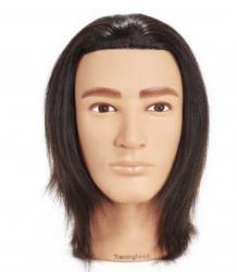 Манекен голова. Волос натуральный