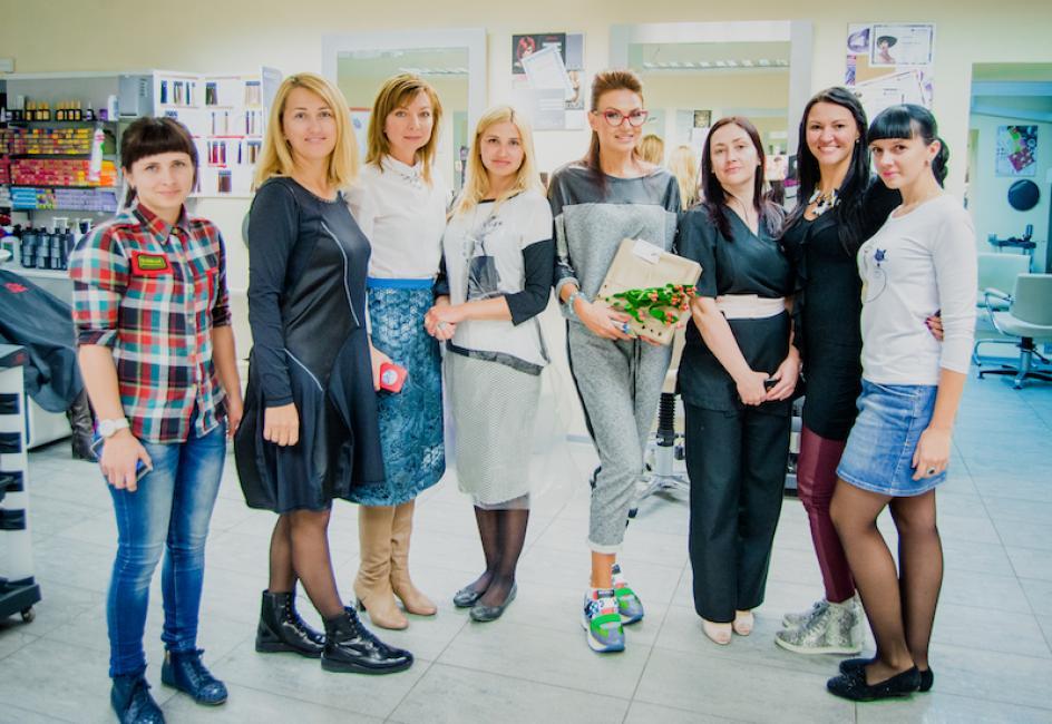 Эвелина Бледанс в Томске